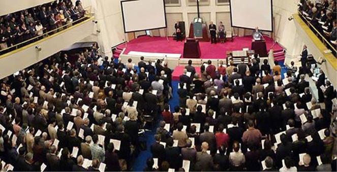 2009年11月22日 日本伝道150年記念信徒大会の模様 東京山手教会にて